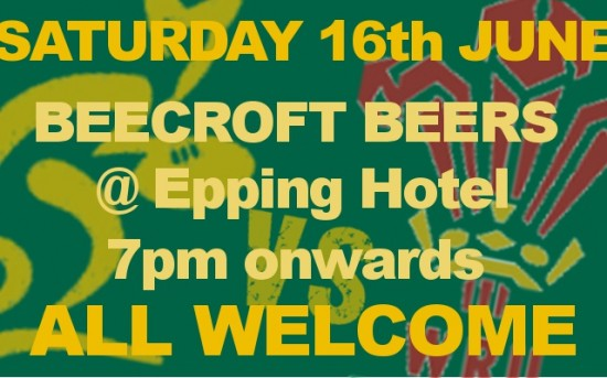 Test Match Drinks @ Epping Hotel